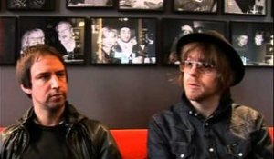 The Rifles 2009 interview - Joel Stoker en Luke Crowther (part 1)