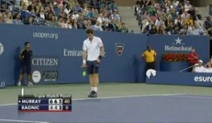 US Open - Murray tranquille