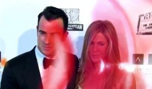 Jennifer Aniston assortie à Justin Theroux