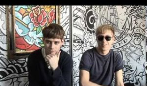 The Drums 2010 interview - Jonathan and Jacob (part 5)