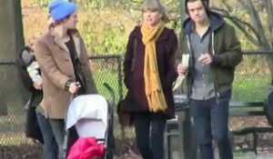 Taylor Swift et Harry Styles en balade romantique