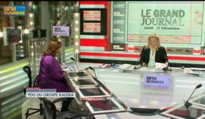17/12 BFM : Le Grand Journal d'Hedwige Chevrillon - Sandra Le Grand et Jean-Marie Chevalier 1/4