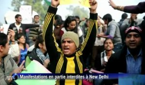 Inde : manifestation contre le viol, malgré l'interdiction