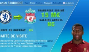 Officiel : Sturridge quitte Chelsea et signe à Liverpool !