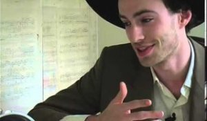 The Veils 2006 interview - Finn Andrews (part 6)