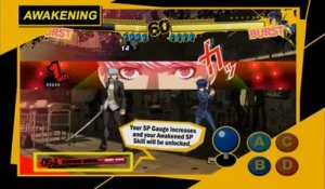 Persona 4 Arena - Gameplay #2 - Basic control