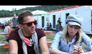 The Ting Tings 2009 interview - Katie and Jules (part 2)