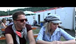 The Ting Tings 2009 interview - Katie and Jules (part 3)