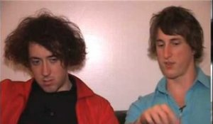The Wombats 2007 interview - Matthew and Dan (part 2)