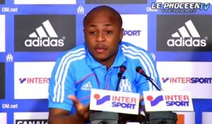 La mise au point d'André Ayew