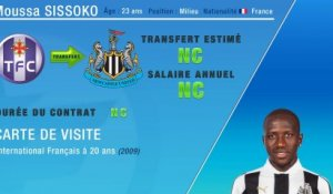 Officiel : Moussa Sissoko s'engage avec Newcastle !