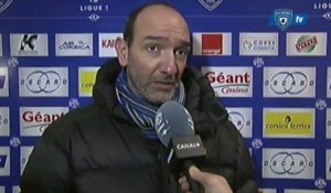 L1 / 2012-13 : Bastia 0-1 Nice : Réaction de PM Geronimi