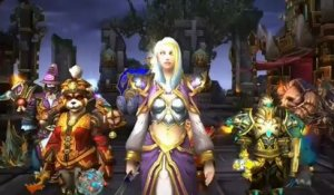 World Of WarCraft : Mists Of Pandaria - Trailer de la mise-à-jour 5.2 (VF)