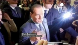 Silvio Berlusconi clame son innocence dans l'affaire...