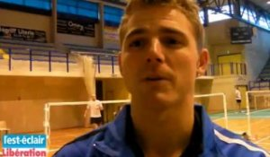 Brice Leverdez, quadruple champion de France de badminton est à Troyes. Rencontre.