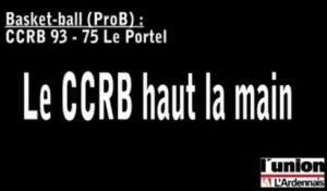 Basket-ball (ProB) : CCRB haut la main