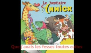 Annick - La girafe - Karaoké avec paroles