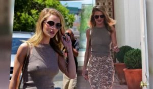Rosie Huntington-Whiteley a l'air d'avoir froid à Los Angeles