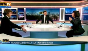 BFM Politique: l'interview de Cécile Duflot par Christophe Ono-Dit-Biot du Point - 28/04