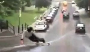 Worst longboard crashes - 2012
