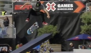 Nyjah Huston wins SLS gold - X-Games Barcelona