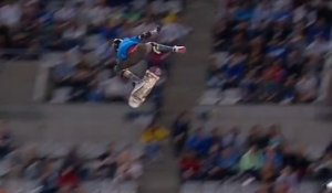Mitchie Brusco wins Silver in SKB Big Air - X-Games Barcelona