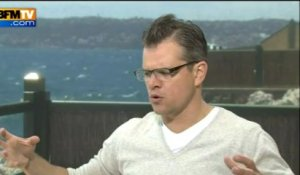 Behind the Candelabra : Interview of Matt Damon at le Festival de Cannes - 21/05