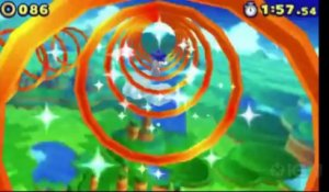 Sonic Lost World - E3 2013 Windy Hill Zone 1 Gameplay