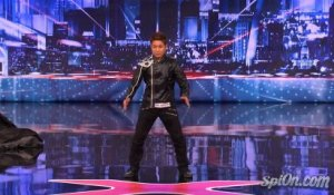 Kenichi Ebina - Matrix Robot Dancer - Americas Got Talent 2013 Auditions