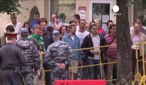 Condamnation d'Alexei Navalny, l'opposition russe accuse...