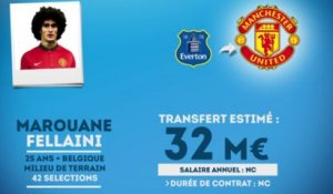 Officiel : Manchester United s'offre Fellaini !