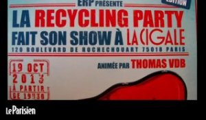 "La ""recycling party"" expliquée par Thomas VDB"