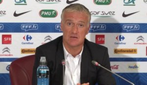 Didier Deschamps refuse d'opposer Benzema et Giroud