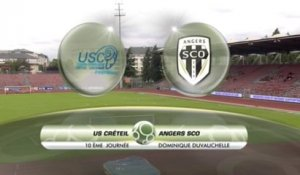 USCL 0 - 0 Angers - J10 S13/14