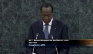DISCOURS - Blaise COMPAORE - Burkina Faso