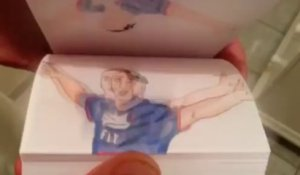 Le but d'anthologie de Zlatan contre Bastia, version flipbook !