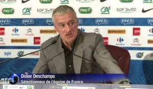 Mondial-2014: Deschamps ambitieux face à l'Ukraine