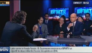BFM Politique: L'interview de Bernard Cazeneuve par Christophe Ono-dit-Biot du Point - 17/11