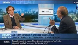 BFMTV Replay: le classement PISA: Luc Ferry face à Jacques Séguéla - 02/12
