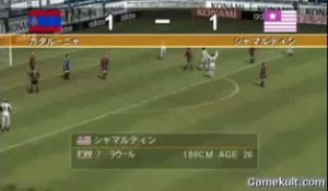Winning Eleven 7 - Raul contre-attaque