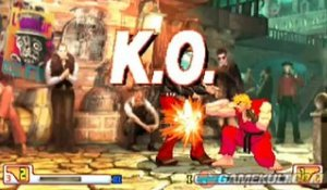Street Fighter III 3rd Strike - Ken s'enflamme