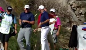 Un ace en golf, impressionnant hole-in-one!