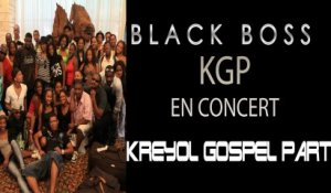 ITW BLACK BOSS - KGP (Groupe Gospel)