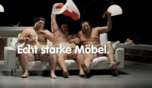 Amazing commercial with Sumo testing a couch! So hilarious!