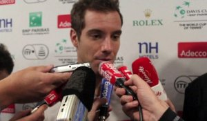 "Coupe Davis - Richard Gasquet : ""J'ai envie de jouer le double"""