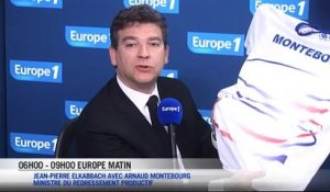 Montebourg veut des maillots made in France