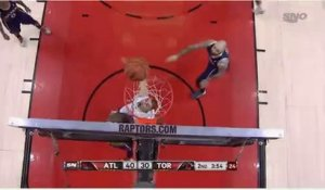 Le dunk de Terrence Ross