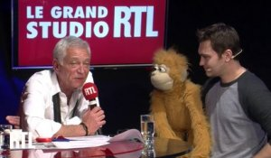 Jeff Panacloc dans le Grand Studio RTL Humour de Laurent Boyer.