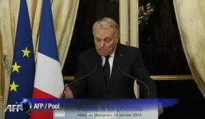 "Jean-Marc Ayrault: ""Le France ""bashing"" m'inquiète"""