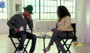 Pharrell Williams en larme en direct à la télévision